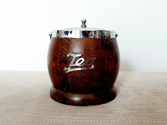 Wooden Tea Caddy