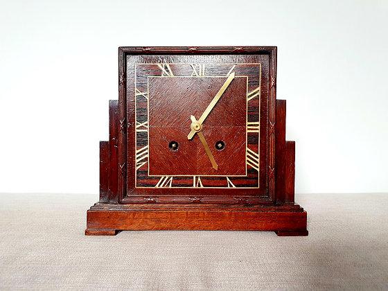 Oak Striking Mantel Clock