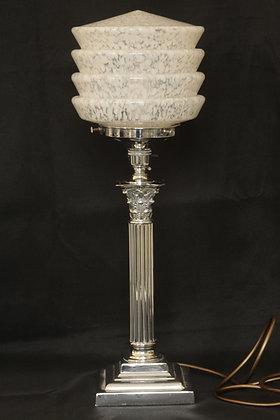 Original Art Deco Chrome Lamp