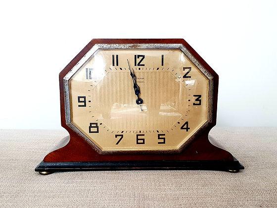 Octagonal Mantel Clock