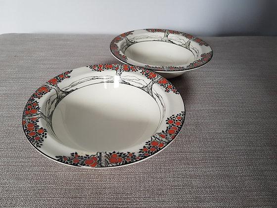 Crown Ducal Orange Tree Dessert Bowls