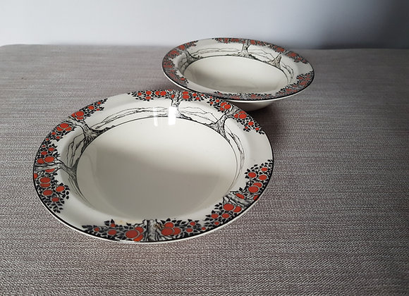 Crown Ducal Orange Tree Dessert Bowls