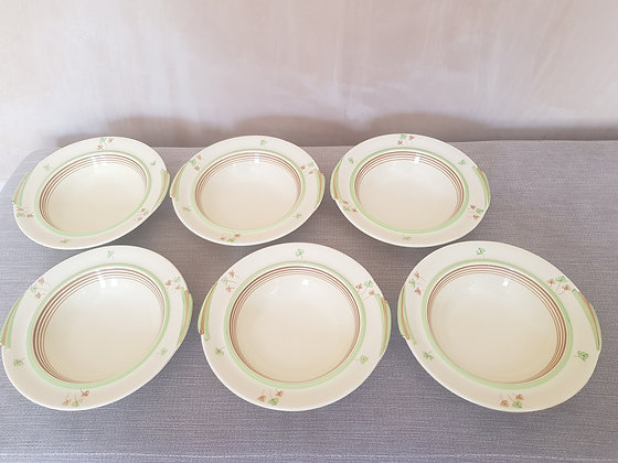 Set of 6 Wedgwood Dessert Bowls