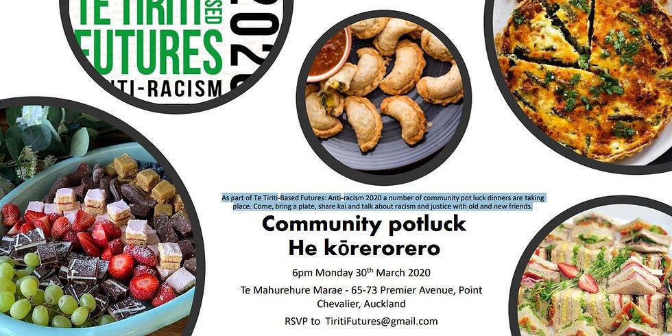 Community Potluck - He kōrerorero