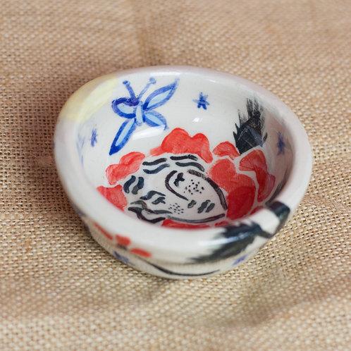 Blume-Frau Rings bowl