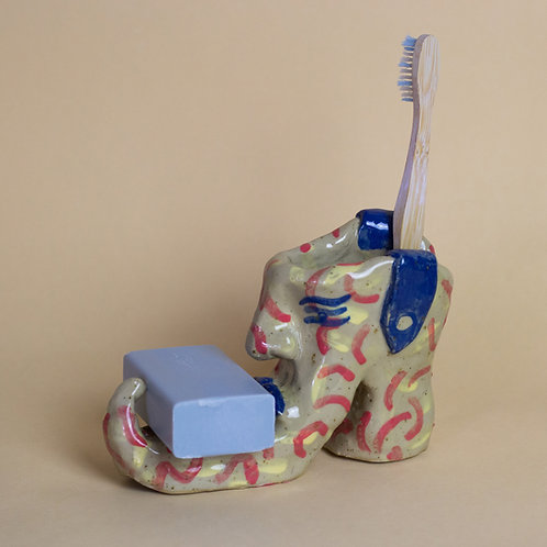 Toothbrush and soap boot !