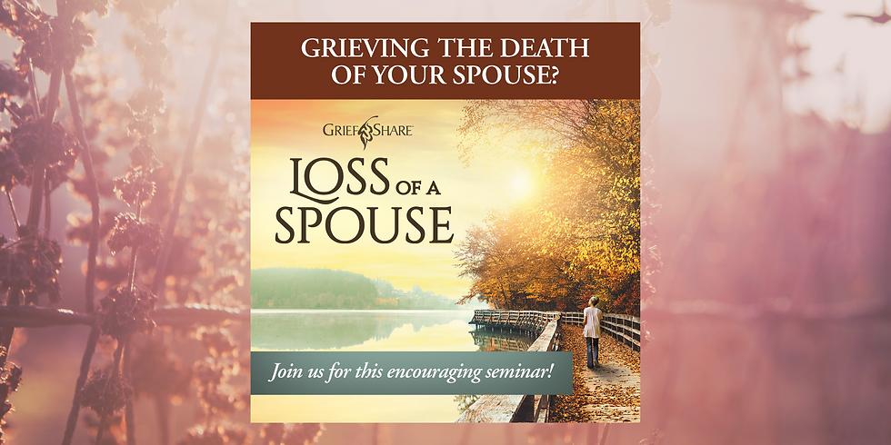 """""""Loss of A Spouse"""" Seminar"""