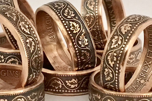 Penny Coin Rings