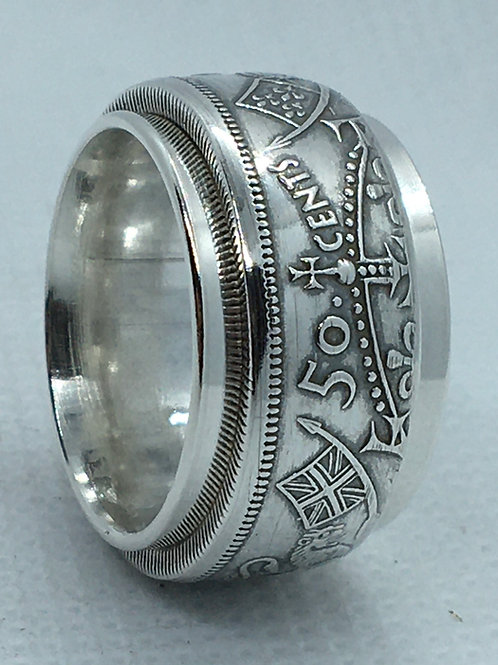 1937-1999 Spinning Coin Rings