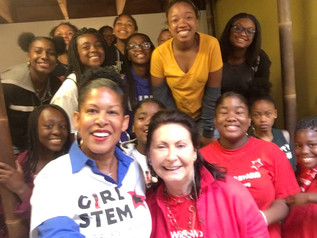 Girl STEM Stars @ World Wide Women Girls Festival! 2017