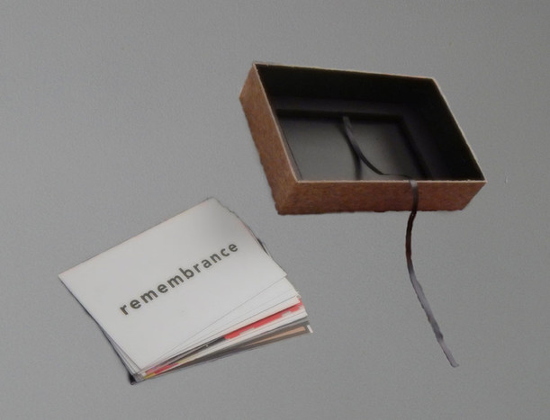 Remembrance Thesis Book