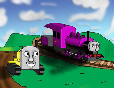 Derek meets Benjamin, disapproving of his continuous tracks, but of course, he'll find them useful by the end.
