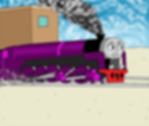 Gary, the biggest and proudest dick of an engine on the Island of Somewhere.