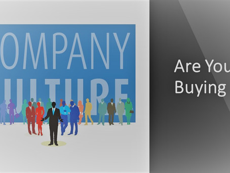 Is company culture becoming a selling point?