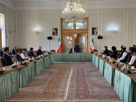 Iran hosts talks between Afghanistan government and Taliban in a bid for peace