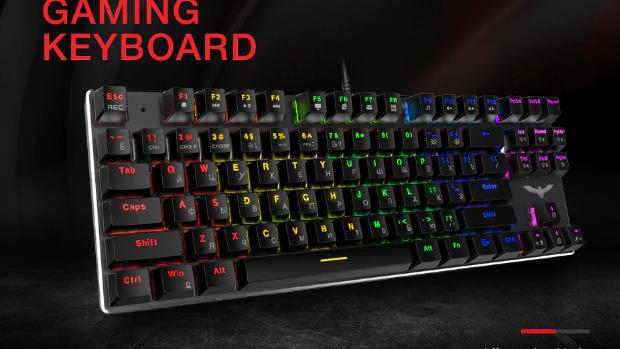 Havit HV-435 87-Key Mechanical Keyboard