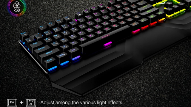 Havit HV-432L 104-Key RGB Mechanical Keyboard