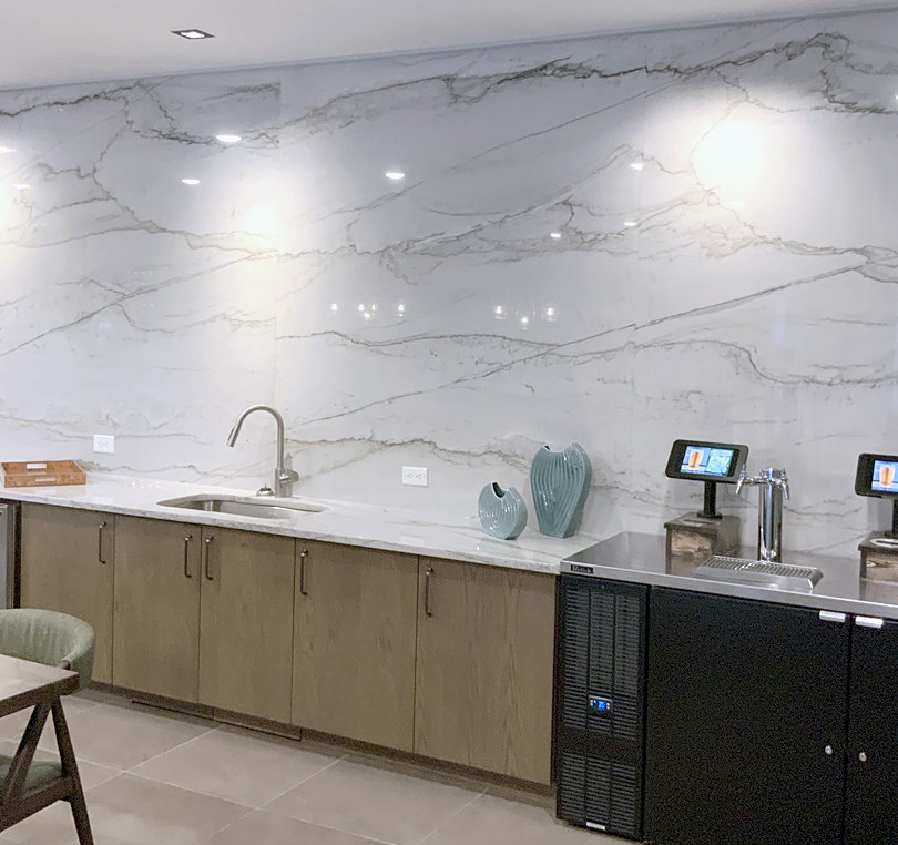 Granite Wall at Corporate Office