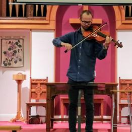 George Playing at Sing Day.jpg