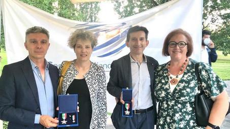 GS Rancilio premiato con la Stella di Bronzo al Merito Sportivo