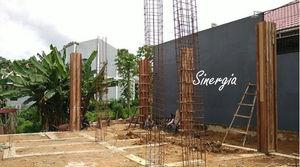 Struktur Bangunan Kost 2 Lantai Samarinda