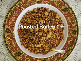 Roasted Barley ቆሎ