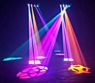 Disco Lighting Hire in Hull, UK. www.russellprodj.com