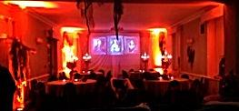 Russell Pro DJ, Halloween uplighting. www.russellprodj.com