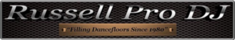Russell Pro DJ Logo, https://www.russellprodj.com/