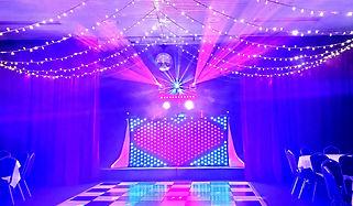 Russell Pro DJ Wedding Lighting Image.