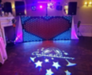 Custom Image Projection by Russell Pro DJ, Hull www.russellprodj.com