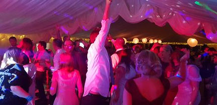 A Rock Wedding Party At Beverley Racecorse By Russell Pro DJ www.russellprodj.com