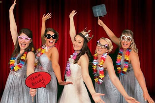 Bride & Bridesmaids, Photo Booth Hire by Russell Pro DJ, Hull.jpg