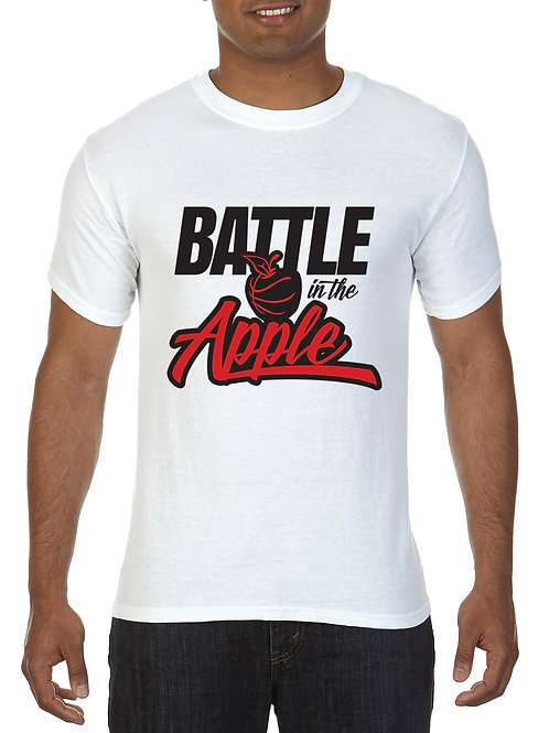 OFFICIAL BATTLE IN THE APPLE T-SHIRT (WHITE)