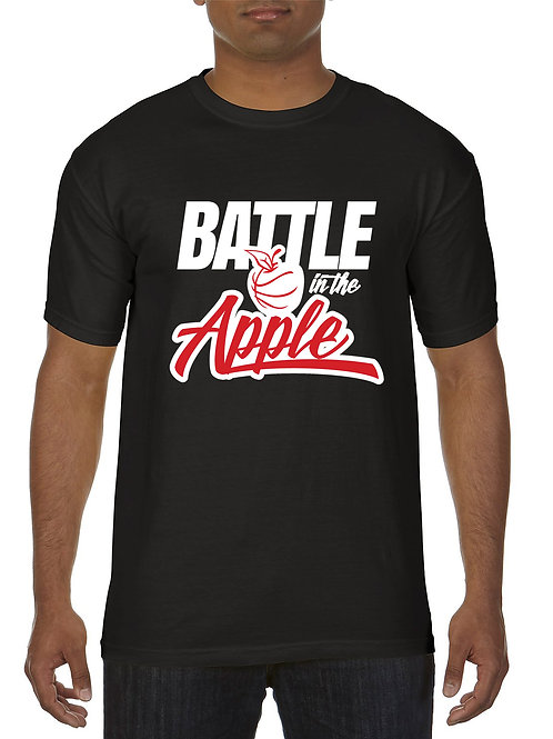 OFFICIAL BATTLE IN THE APPLE T-SHIRT (BLACK)