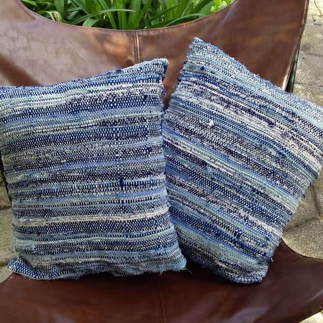 BLUE CUSHIONS $150 pair