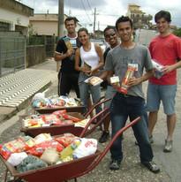 Arrecadação de alimentos - 2009