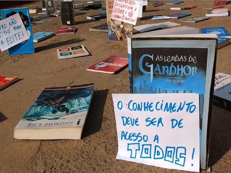"""Livros """"se manifestam"""" contra o fim de isenção fiscal"""