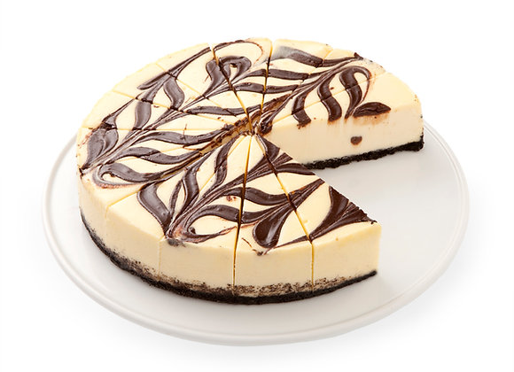 Chocolate Marble Cheesecake (Smaller size)