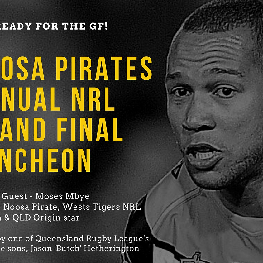 Noosa Pirates Annual NRL Grand Final Luncheon