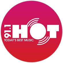 Hot 91 - Todays Best Music logo 2.png