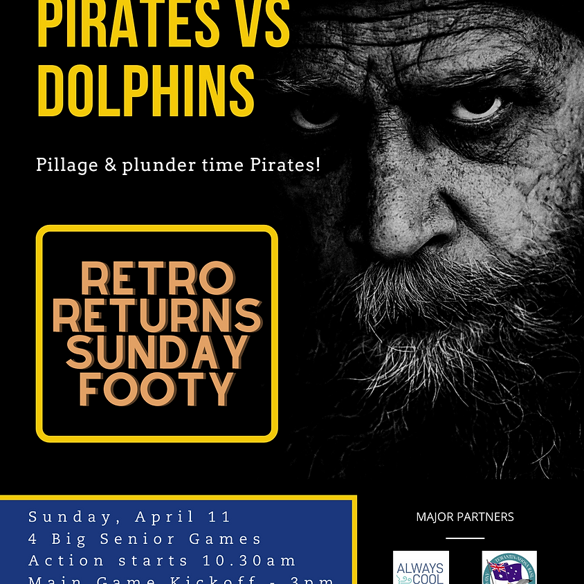 Next Senior Home Game - Noosa Pirates vs Kawana Dolphins