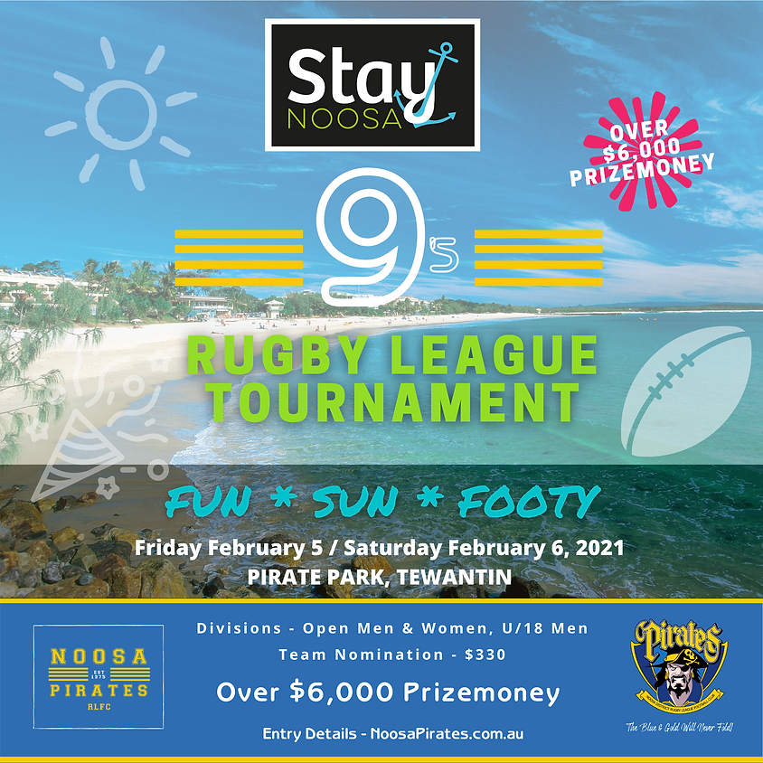 Stay Noosa 9's Rugby League Tournament