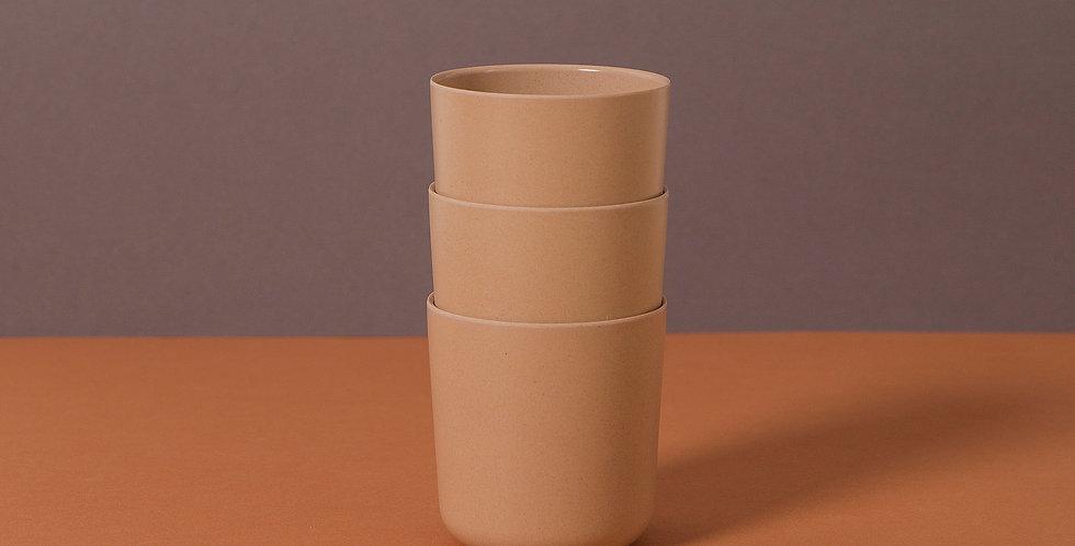 Bamboo Mug 3 pack, Rye