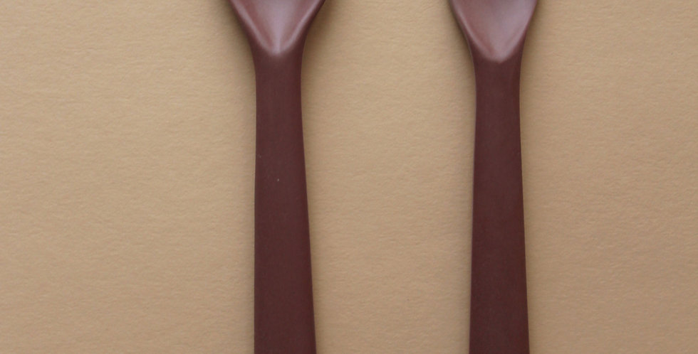 Bamboo Cutlery Set, Beet