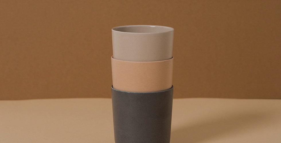 Bamboo Mug 3 pack, Fog/Rye/Ocean