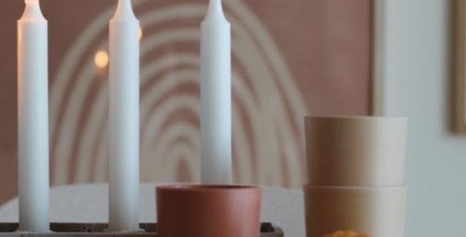Bamboo Mug 3 pack, Fog/Rye/Brick