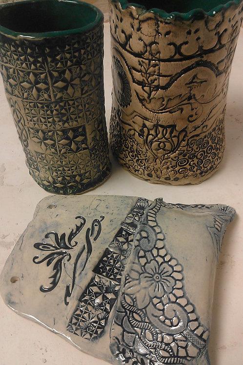 Handbuilding Holiday Gifts with Beth, Mon 6:30-8:30, Nov 8-Dec 6