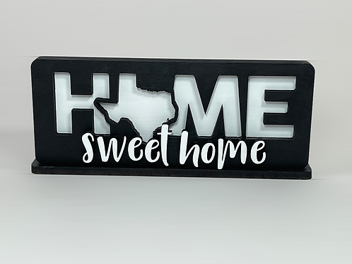 Home Sweet Home States Sign