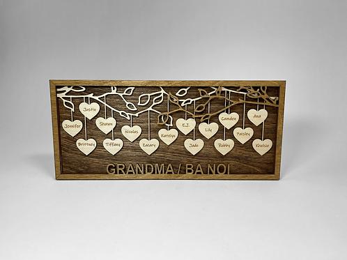 Hanging Heart Frame Set